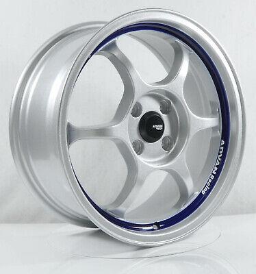 Rims For Cheap >> 4pcs Advan Racing Rg1 16inch 7j 4x100 5x114 3 Alloy Wheels Cheap Car Rims Yh47 2 Ebay