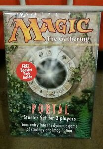 Magic-the-Gathering-Portal-Starter-Set-2-Player-Rare-Sealed-with-booster-pack