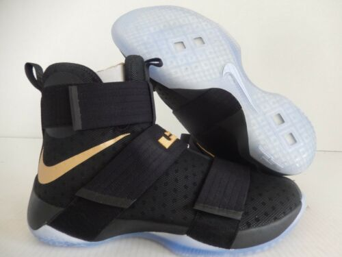 7cbe4360e085 ... coupon code for nike lebron soldier 10 id navy blue grey sz 12 glow in  the