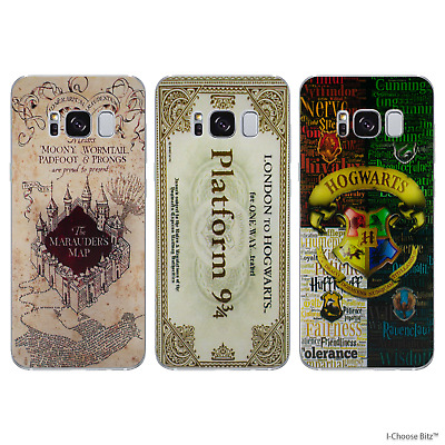sports shoes a9bbd 1f2cd Harry Potter Case for Samsung Galaxy S6 S7 Edge S8 S9 Plus Silicone Gel  Cover | eBay