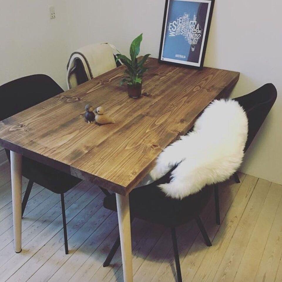 træ spisebord Spisebord, Træ, Sonderskov – dba.dk – Køb og Salg af Nyt og Brugt træ spisebord