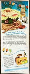 1946-Durkee-039-s-Salad-Dressing-and-Margarine-Print-Ad-Colorful-Food-Illustrations
