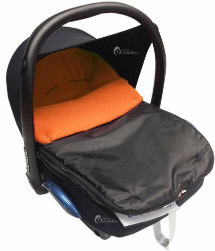 Cosy Toes Compatible with Maxi Cosi Pebble Cabrio Orange Car Seat  Footmuff