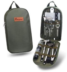 Camping Cooking Utensils Set Camp Outdoor BBQ Cookware Equipment Travel Mess Kit