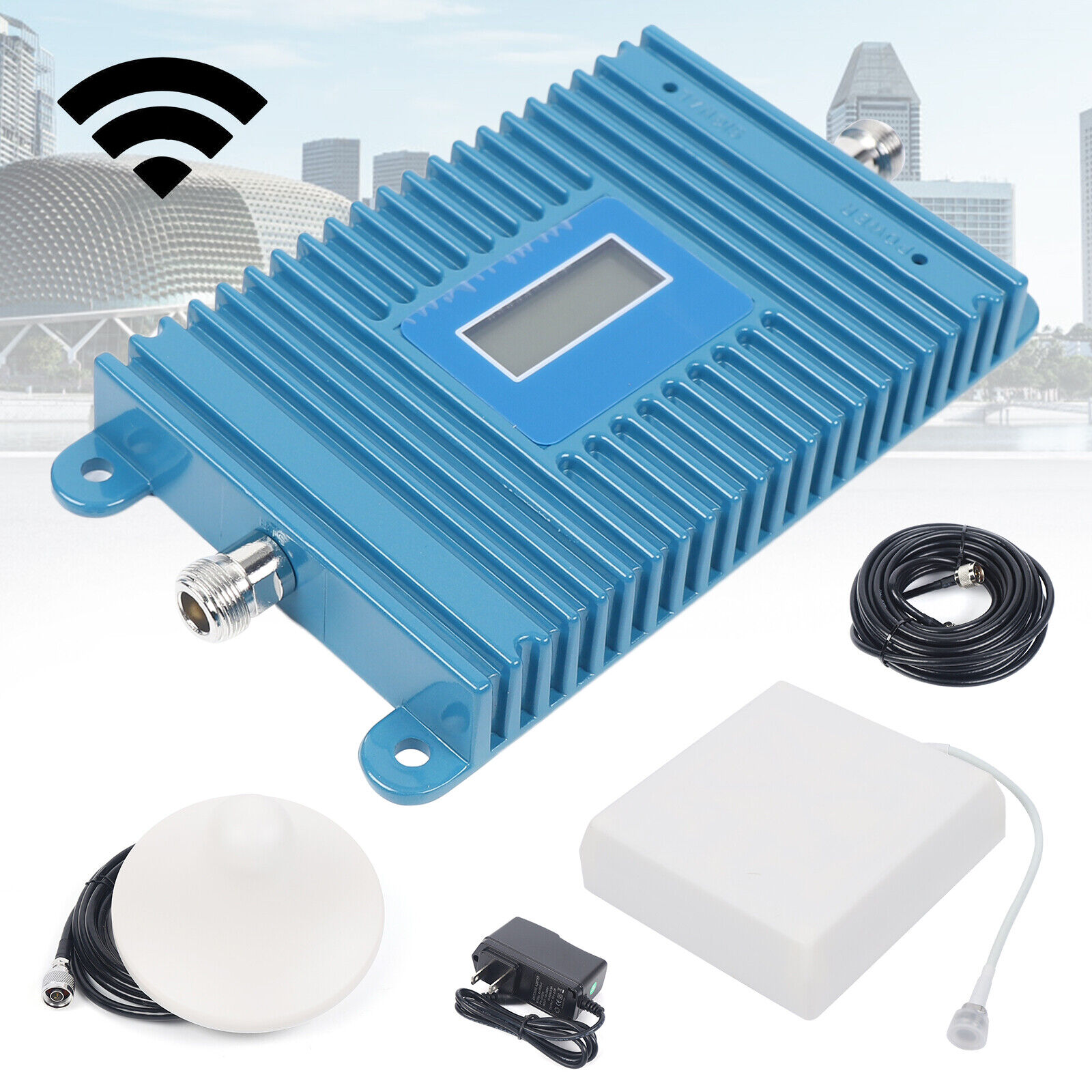 700MHz GSM 4G LTE Cell Phone Signal Booster Repeater Amplifier +Yagi Antena Kit. Available Now for 115.52