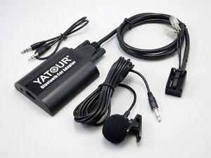 Bta Bluetooth Adaptateur Aux In Convient Pour Citroen Avec Rd4 Radio De Bosch/blaupunkt-t Fr-fr Afficher Le Titre D'origine