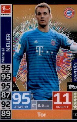 Match Attax 18 19 # 437 Action Manuel Neuer Kapitän FC Bayern München