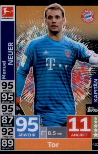 Topps Match Attax ACTION 18//19-437 Kapitän Manuel Neuer