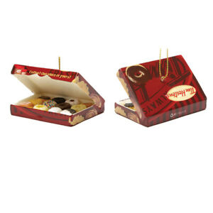 My Little Town Tim Hortons box of doughnuts ornament