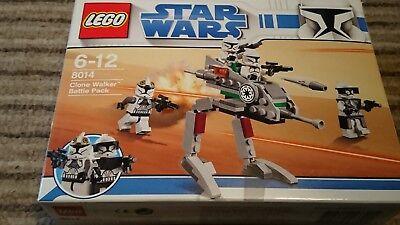 Lego Star Wars Clone Walker Battle Pack 8014 interrompu Brand New /& Rare