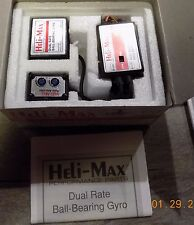 Heli-Max Dual Rate Ball-Bearing Gyro HMXM1000 Vintage