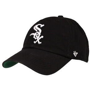 timeless design db2aa 1cd9b Image is loading Chicago-White-Sox-47-Brand-MLB-Youth-Clean-