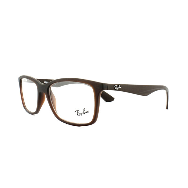 d6bb89054c1 Ray-Ban Rx7047 5451 54mm Matte TRASP Brown Eyeglasses for sale ...