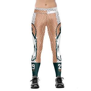 97603536 Details about Woman Leggings Grid Denver broncos No.29 printed sports  legging S-4XL 0350