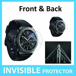 Image Is Loading Samsung Gear S3 Screen Protector Front And Back