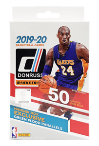2019-20-panini-nba-donruss-trading-cards-50-cards-sealed-hanger-box
