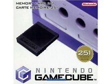 # ORIGINALE GameCube Memory Card 251 dol-014 con imballo originale Nintendo GC-TOP #