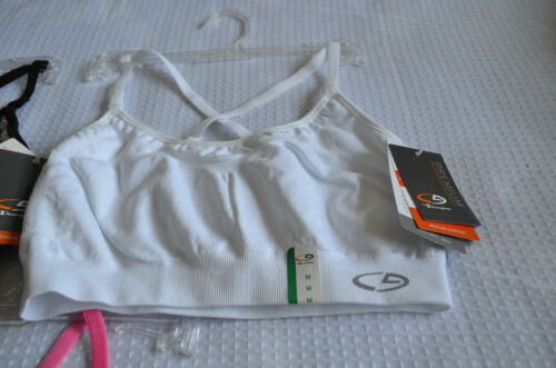 C9 Champion Premium Women Medium Support Adjustable Straps Sports Bra S M NWT