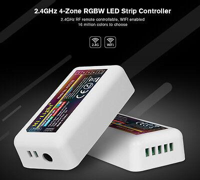 Mi-light 4 Zonen Led Rgb+w Rgb+ww Streifen Stripe Controller Rf 2.4ghz Wlan Wifi Modernes Design