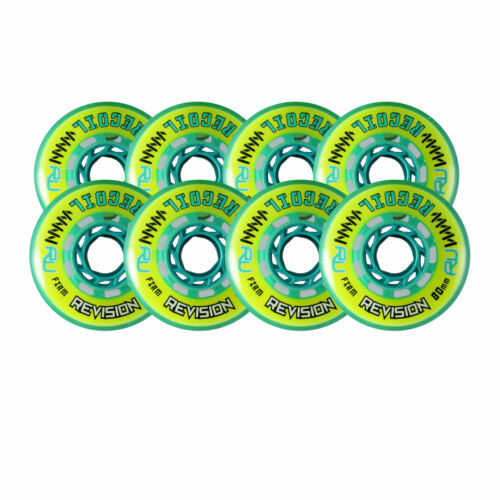 Revision Wheels Inline Roller Hockey Recoil Firm 78A 8-Pack