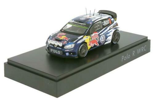 VW Polo R WRC #2 WRC 2015 Latva 1:43 6C1.099.300.B