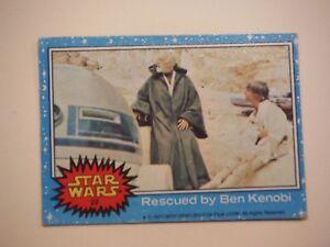 Topps 1977 Trading Card # 50 Rebel Leaders Wonder Star Wars Series 1 Blue