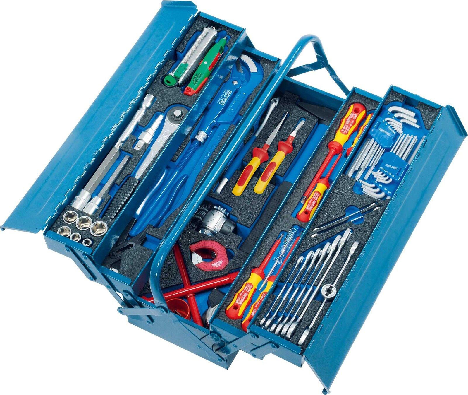 HEYCO HEYTEC Sanitär-Werkzeugkasten mit Modulen 50807764600