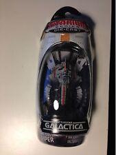 Battlestar Galactica CLASSIC COLONIAL VIPER Titanium NIP RARE diecast bsg