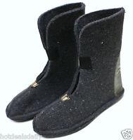Heavy Wool Felt Winter Boot Liners Pair Boys Size 5 80%wool Snowmobile Snow
