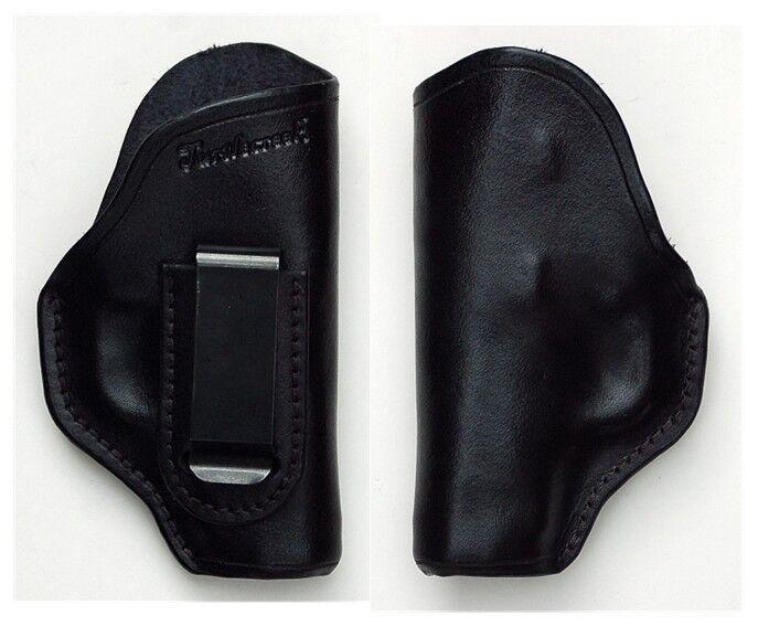 Turtlecreek Leder IWB Holster Colt Mustang - Right Hand Pattern & Fixed Clip