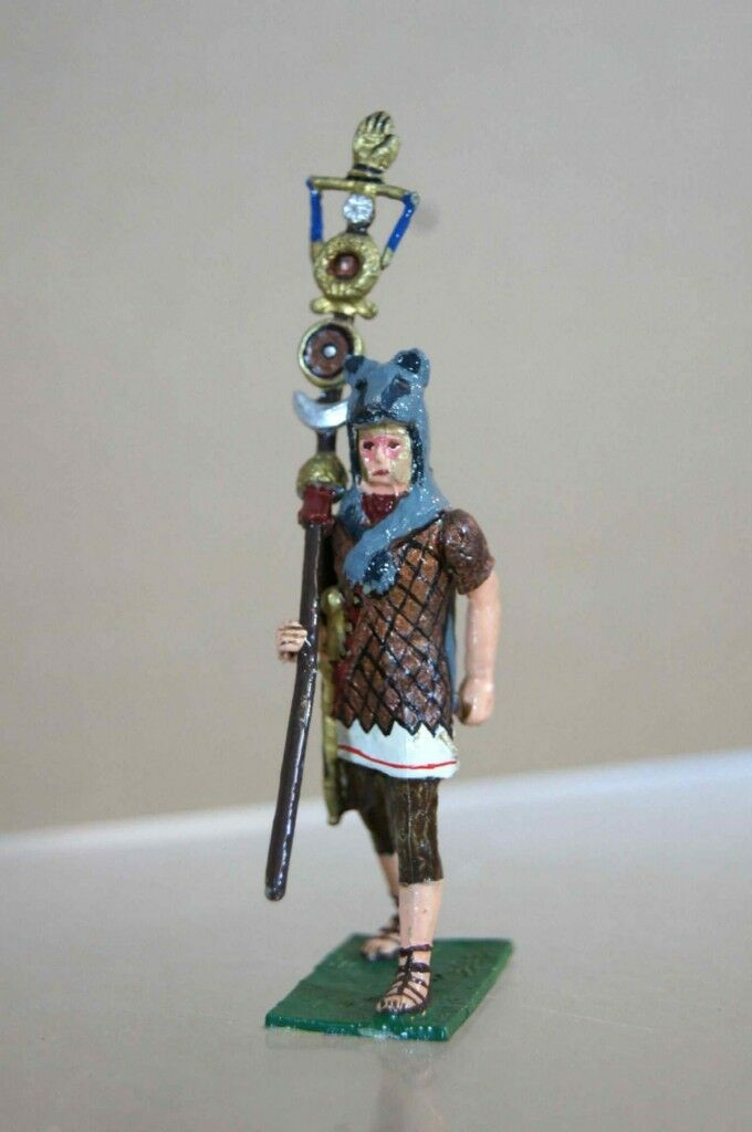 RICHARD COURTENAY JULIUS CAESAR ROMAN EMPIRE CENTURION & COLOUR STAFF 44 BC ot