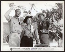 Richard Denning MARA CORDAY sci-fi horror THE BLACK SCORPION Vintage Orig Photo