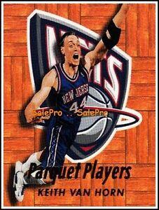 ULTRA-FLEER-1999-KEITH-VAN-HORN-NBA-NEW-JERSEY-NETS-RARE-PARQUET-PLAYERS-2PP