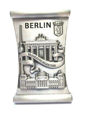 Berlin Metall Magnet Souvenir Germany Brandenburger Tor Alex Reichstag