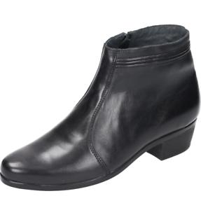 Zapatos caballero zapatos caballero noble botín, Napa, scwartz +++ nuevo +++