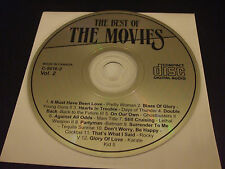 The Best of the Movies Music Vol. 2 (CD) - Disc Only!!