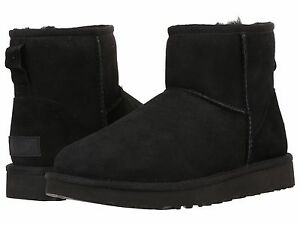 Women-039-s-shoes-UGG-classic-mini-II-Stivali-1016222-Nero-5-6-7-8-9-10-11-NUOVO