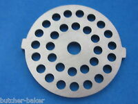 Meat Grinder Plate Disc Die For Electric Waring Pro & Deni W/ 3/16 Burger Holes