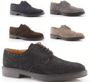 Queue Oxford À Lacets Cheval Homme Cuir Chaussures Italien Hirondelle De Suédé 11WwF5qr
