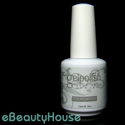 15 ml Base Foundation Gel for Nail Art Soak Off Color UV Gel Polish #053E-2