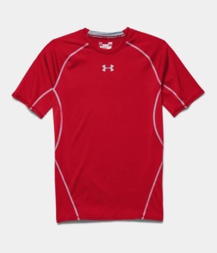 Under Armour Mens UA Sonic Heatgear Short Sleeve Compression T-Shirt Workout Tee