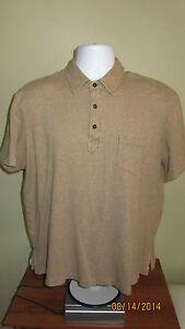 Xl polo ralph lauren light brown tan short sleeve golf for Light brown polo shirt
