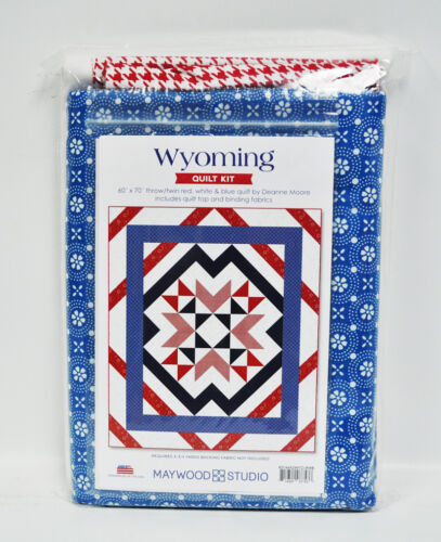 Wyoming Red White and Blue Quilt Kit