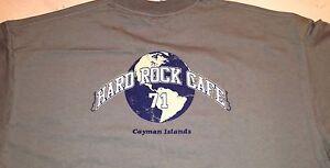 Hard-Rock-Cafe-CAYMAN-ISLANDS-Green-Globe-HRC-Tee-T-SHIRT-2X-XXL-26-034-x-20-034-w-Tag