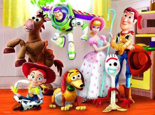 Trefl 30 Piece Kids Toy Story 4 Ready To Play Big Pieces Floor Jigsaw Puzzle NEW