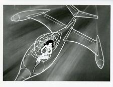 WONDER WOMAN FLYING INVISIBLE PLANE SUPER FRIENDS HANNA BARBERA '74 ABC TV PHOTO