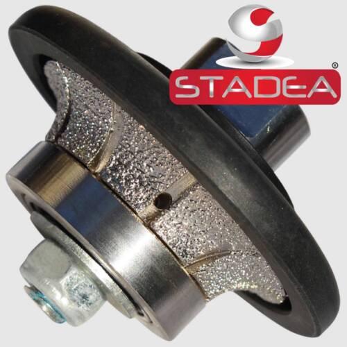 Stadea Granite Polishing Bullnose Tools Kit for Granite Countertop Demi Edge 3//8