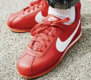Detalles de Nike Cortez Basic SL (GS) juventud 904764-601 Rojo/Blanco UK 3  EU 35.5 nos 3.5Y Nuevo- ver título original