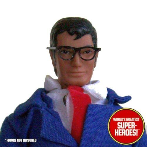 """Mego Superman Clark Kent Lunettes identité secrète Custom Pour 8/"""" Figure wgsh Pièces"""