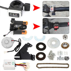 Electric-Bike-Conversion-Kit-450W-36V-Left-Drive-Hub-Motor-Ebike-E-Bicycle-Kit